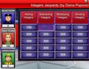 Integers Jeopardy