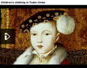 Children's Clothes - Tudor