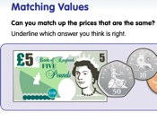 Matching Values