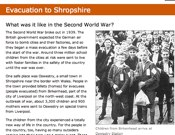 Evacuation To Shropshire
