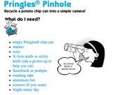 Pringles Pinhole