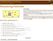 Dissolving Particles