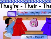 They're - There - Their