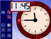 White Board Clock
