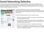 Social Networking Detective