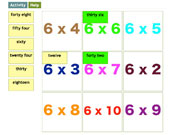 Six Times Tables