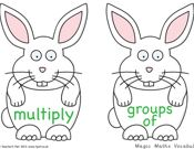 Multiplication Vocabulary
