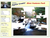 River Features Jigsaw