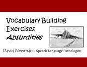 Vocabulary Absurdities