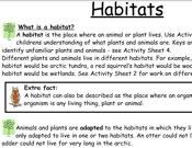 Wildwood - Habitats