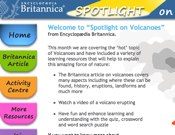 Spotlight On Volcanoes
