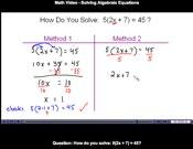 Algebra And Prealgebra
