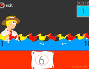 Fairground Duck Shoot