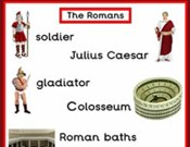Romans Topic Word Posters