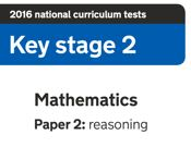 2016 KS2 Reasoning