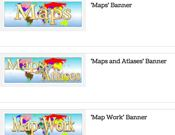 Maps Banners