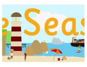 Seaside Display Poster