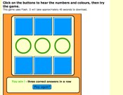 Numbers And Colours Game