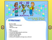 2D To 3D Morphing