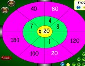 Multiplication Dartboard