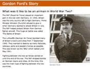 Gordon Ford's Story