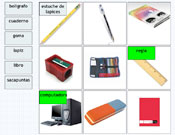 Classroom Labelling in Spanish