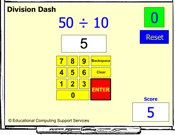 Division Dash IWB Game