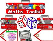 Maths Toolkit Display Set
