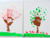 Seasonal Tree Canvases