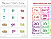 Memory Games Printables