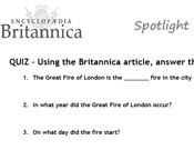 Britannica - Great Fire