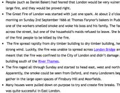 Fire of London: Interesting Facts