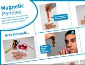 Magnetic Pennies