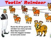 Tootin' Reindeer