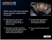 ARKive's Trick Or Treat Quiz