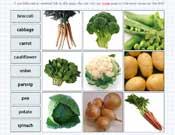 Vegetable Labelling
