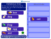 Alphabetical Order 1