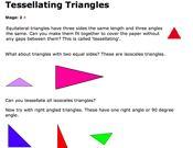 Tessellating Triangles